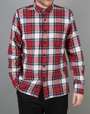 Route One Plaid Check Flannel Shirt - Multi