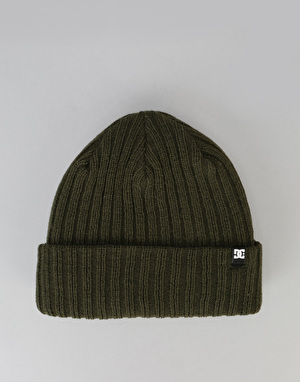 DC Fish N Destroy Cuff Beanie - Fatigue Green