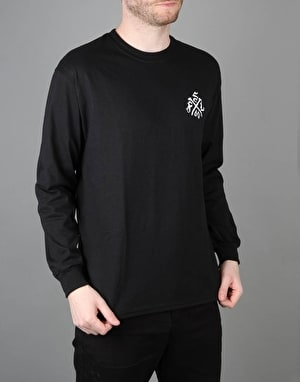 Scarred For Life Mindskull LS T-Shirt - Black