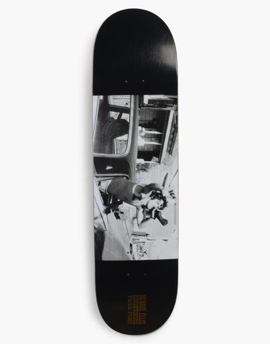 Pass Port x Rennie Ellis Fitzroy Extravert Skateboard Deck - 8.5""