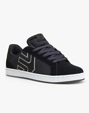 Etnies Fader LS Skate Shoes - Navy/White