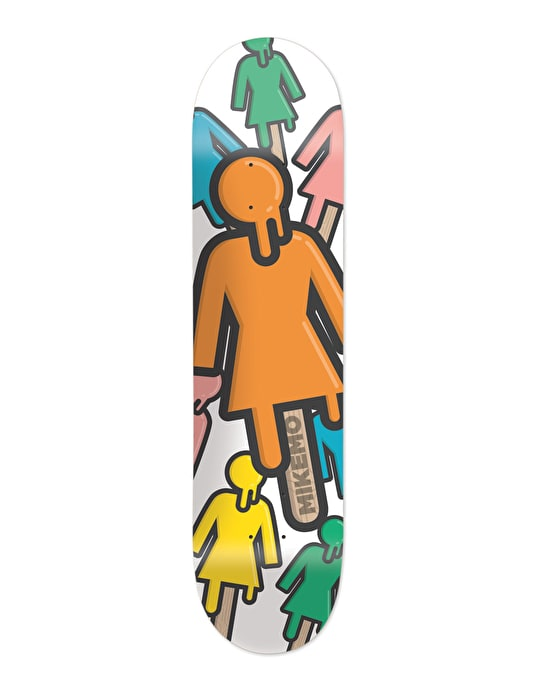 Girl x Cody Bass Mike Mo #MADETHIS Skateboard Deck - 8""