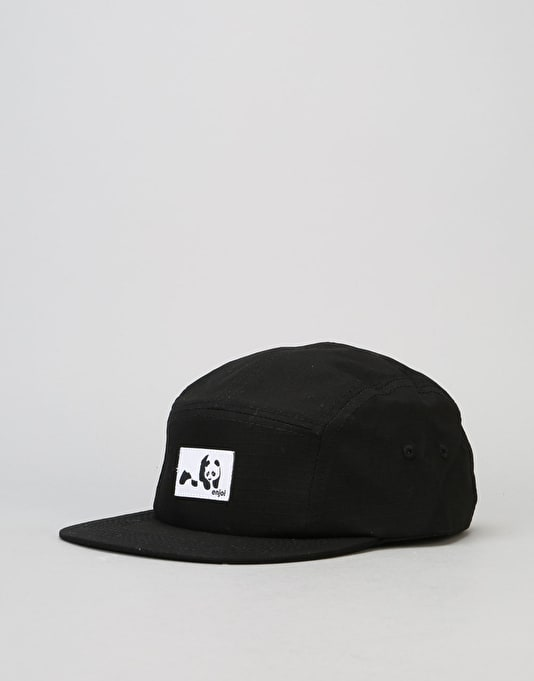 Enjoi Original Panda 5 Panel Cap - Black