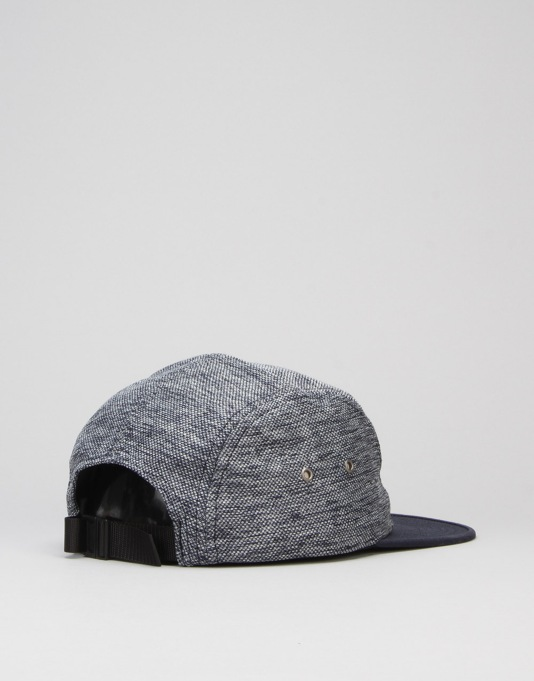 HUF Heathered Pique Volley 5 Panel Cap - Blue