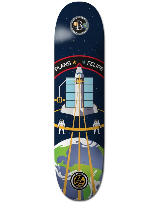 Plan B Felipe Exploration P2 Pro Deck - 8.125""
