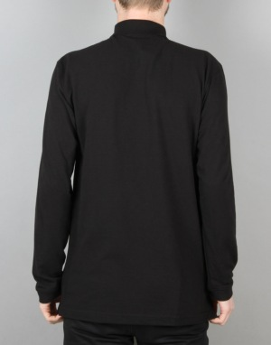 Hopps Big Hopps L/S Polo Shirt - Black