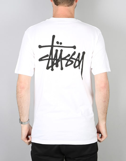 Stüssy Basic Stüssy T-Shirt - White