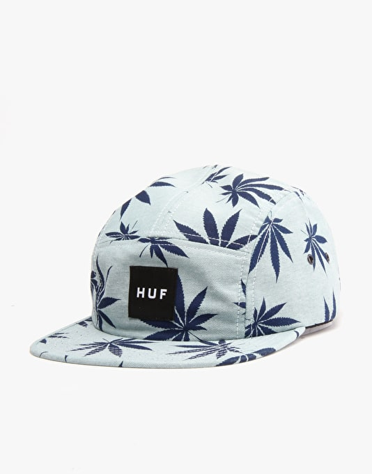 HUF Plantlife Volley 5 Panel Cap - Green