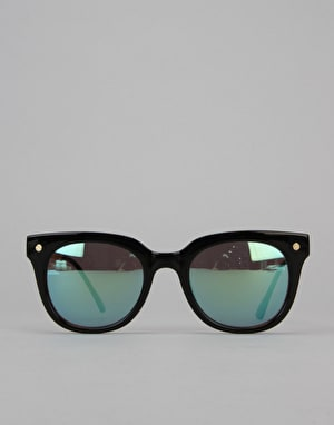 Route One Basics Wayfarer With Metal Arms Sunglasses - Black