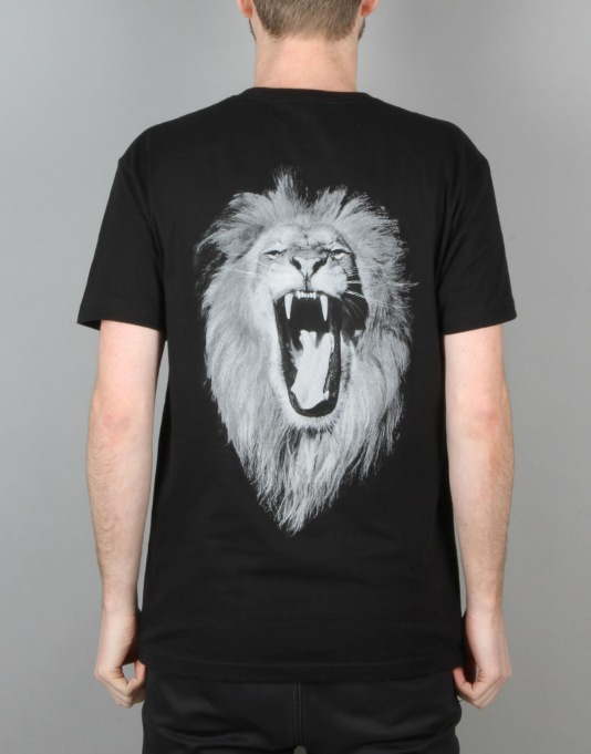 Hopps K.I.M/Lion T-Shirt - Black