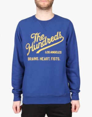 The Hundreds Tradition Crewneck - Blue