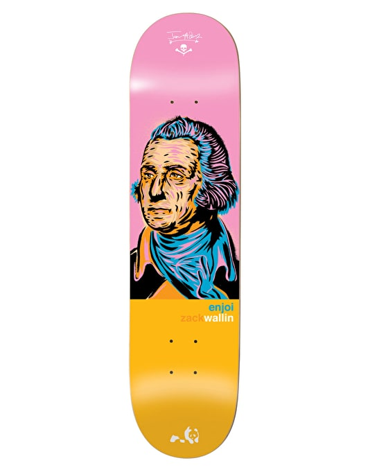 Enjoi x Jason Adams Wallin Presidents Pro Deck - 8""