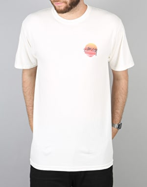 Stüssy Sunset Dot T-Shirt - White