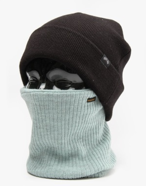 Spacecraft Staple Gaiter Facemask - Dark Grey