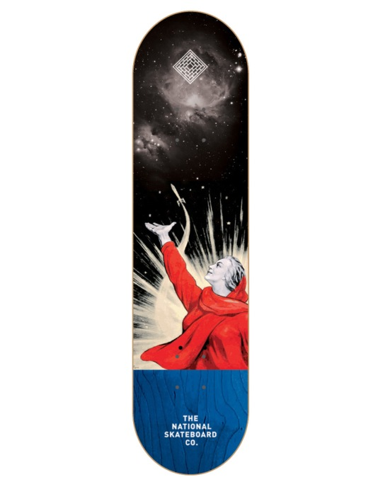 The National Skateboard Co. Pitch Team Deck - 8.125""