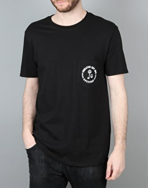 Spitfire x Skeleton Key Pocket T-Shirt - Black