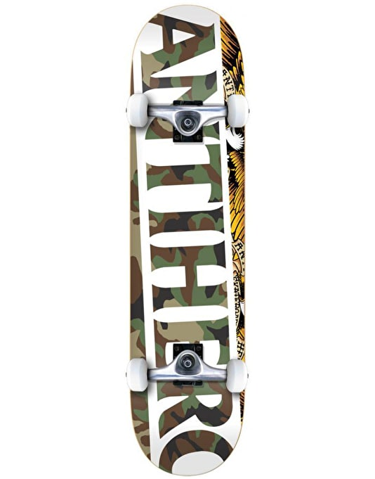 Anti Hero Blackhero Issues Complete Skateboard - 8""