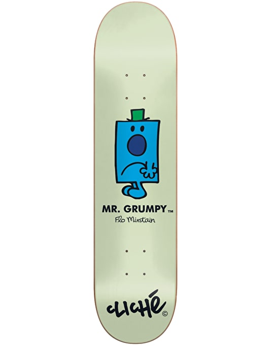 Cliché x Mr. Men Mirtain Mr. Grumpy Pro Deck - 8.25""