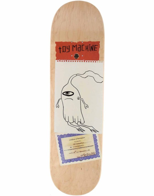 Toy Machine Templeton Scraps Pro Deck - 8.5""