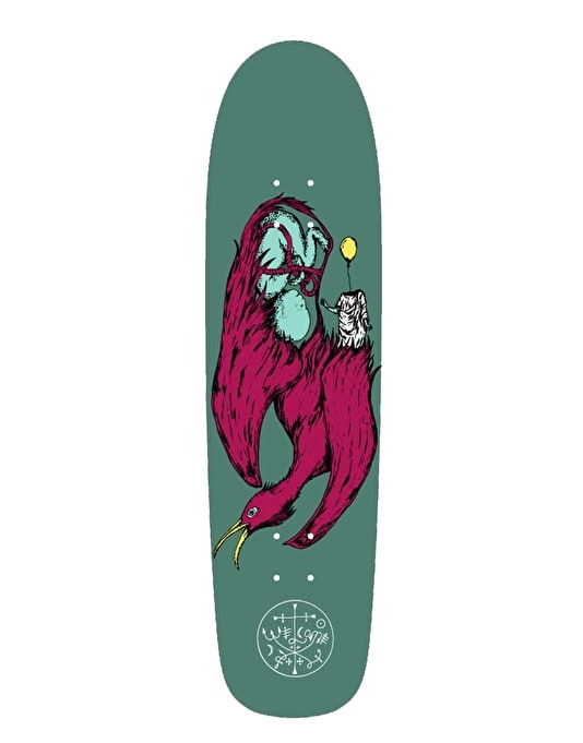 Welcome Raw Power on Waxing Moon Team Deck - 8.5""
