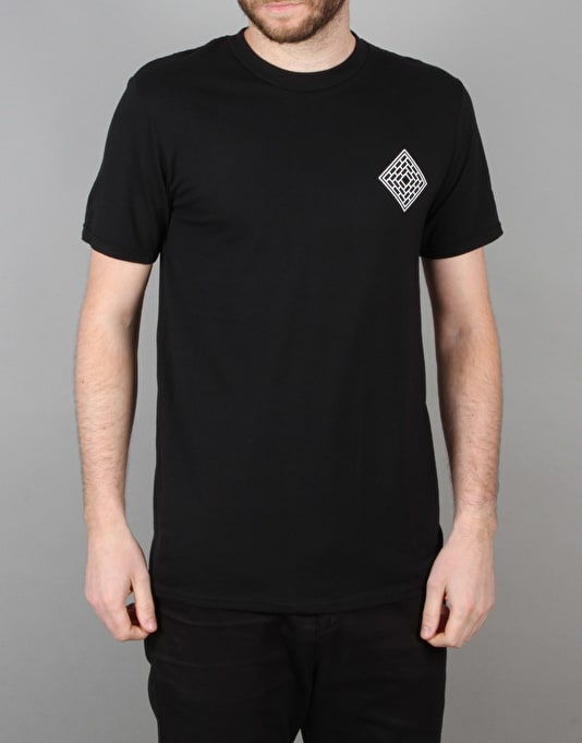 The National Skateboard Co. Redacted T-Shirt - Black