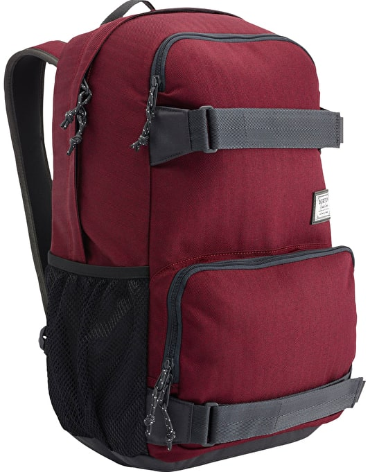 Burton Treble Yell Backpack - Zinfandel Herringbone