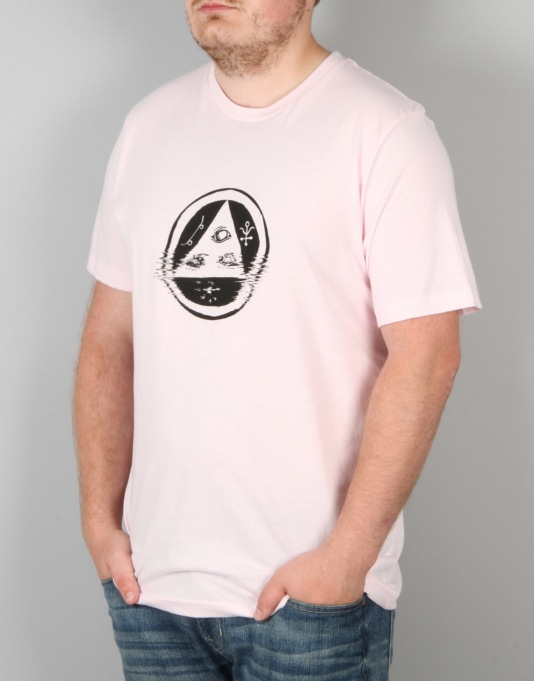 Welcome Tracking T-Shirt - Pink/Black