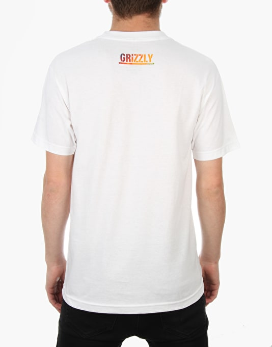 Grizzly x Fourstar T-Shirt - White