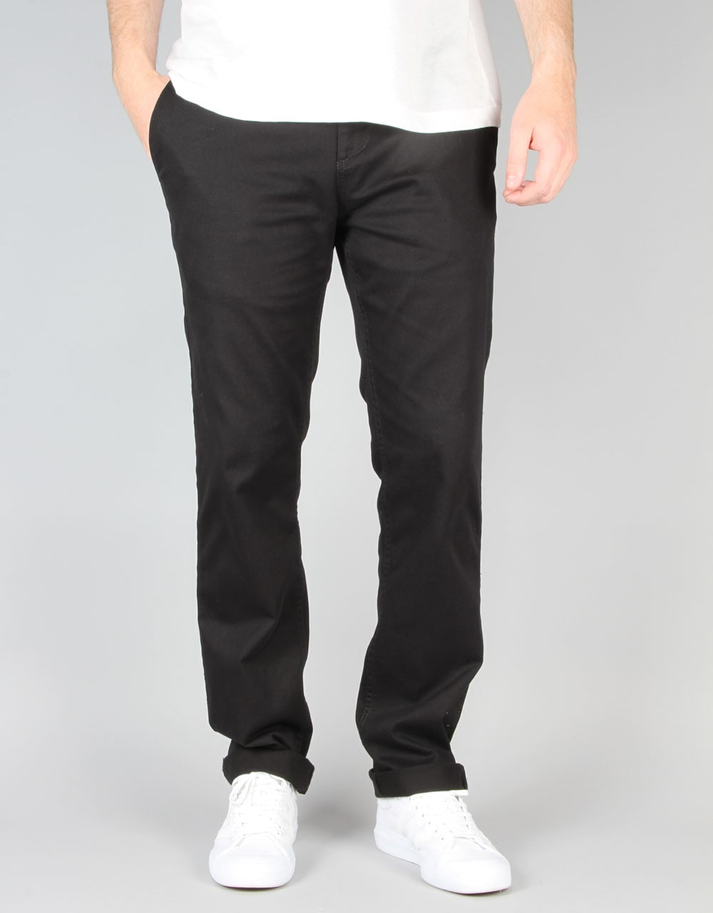 DC Worker Slim Chino Pant - Black  08d5594416