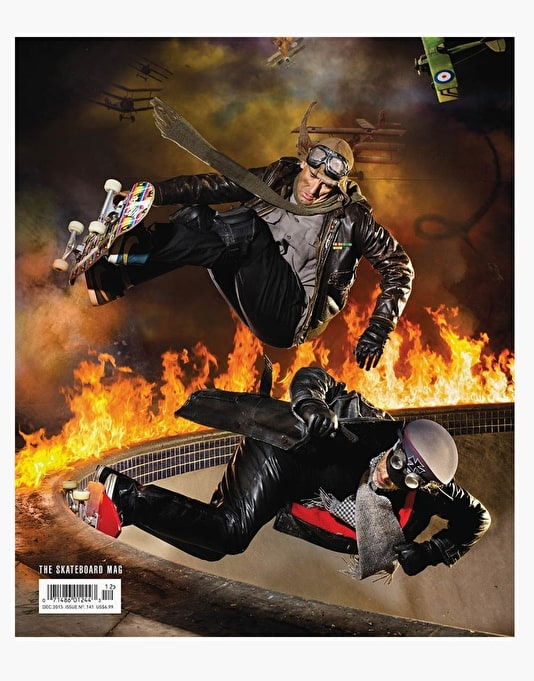 The Skateboard Mag Issue 141 December 2015