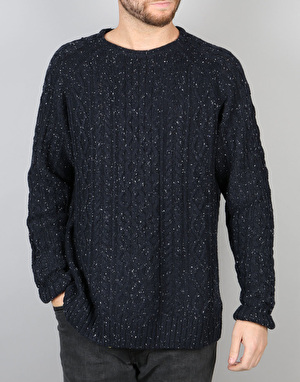 Bellfield Cheveley Knit - Navy
