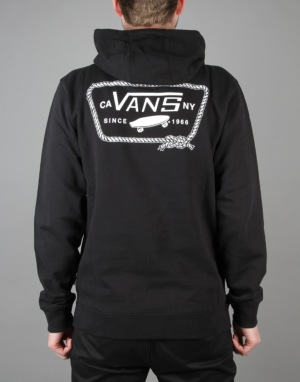Vans Port Patch Pullover Hoodie - Black