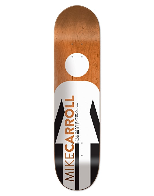Girl Carroll Giant OG Pro Deck - 8.125""