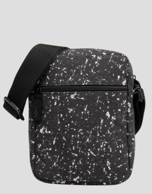 Mi-Pac Splattered Flight Bag - Black/White