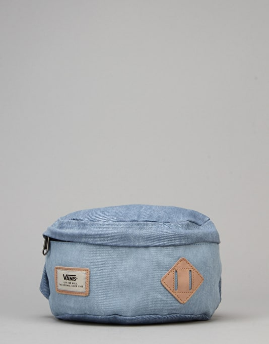 Vans Aliso Hip Pack Bum Bag - Bleached Indigo