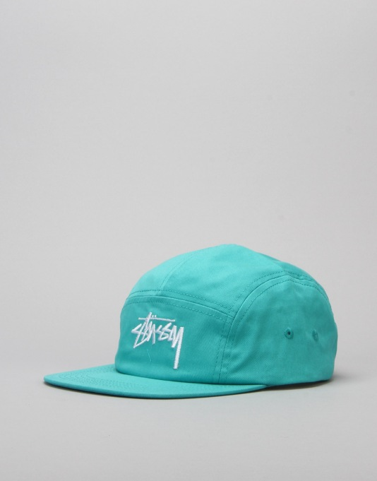 Stüssy Stock SP16 Camp Cap - Teal