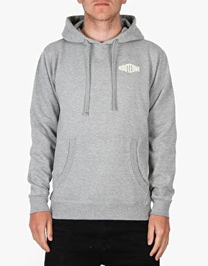 Route One Hardgoods Pullover Hoodie - Heather Grey