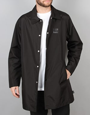 Stüssy Long Coach Jacket - Black
