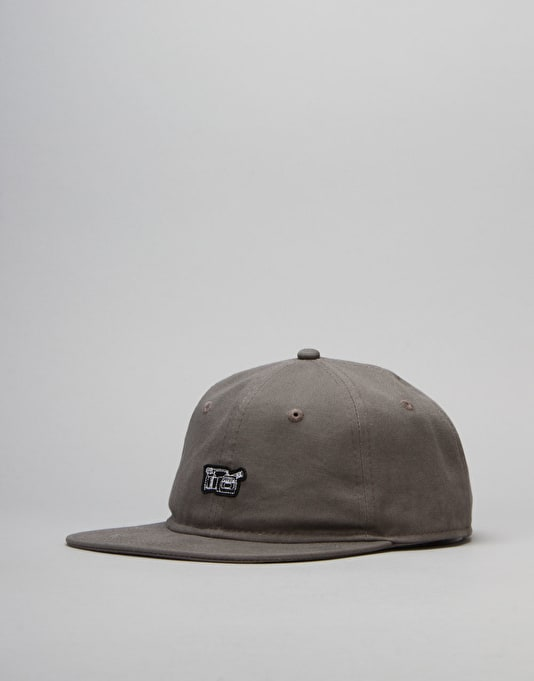 Route One VX 6 Panel Unstructured Cap - Charcoal