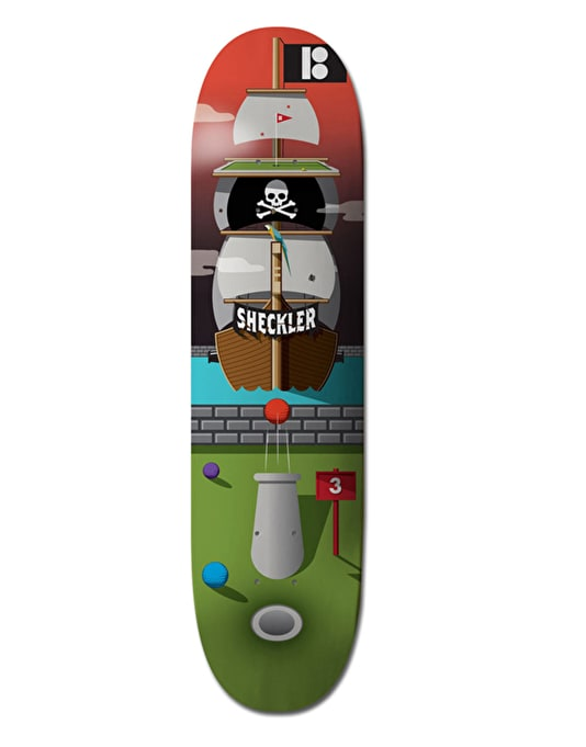 Plan B Sheckler Pirate Ship Pro.Spec Pro Deck - 8.25""