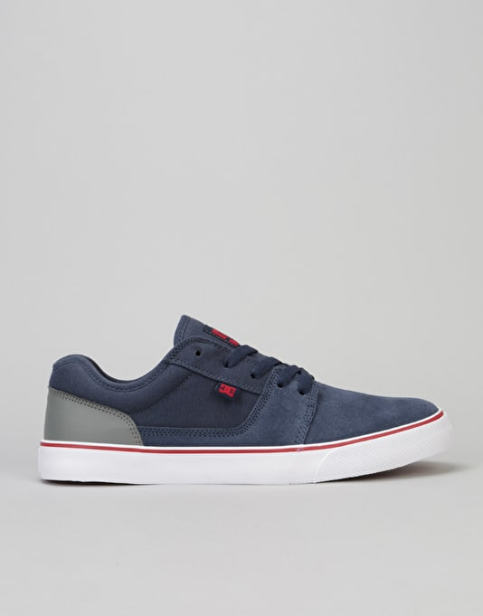 DC Tonik Skate Shoes - Navy/Grey
