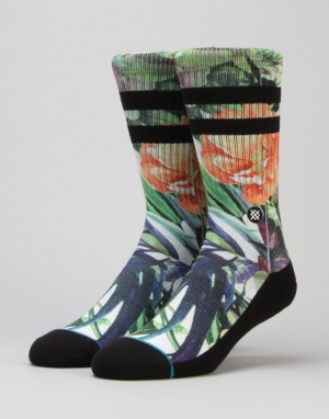 Stance Drought Classic Crew Socks - Natural