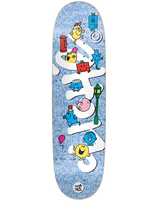 Cliché x Mr. Men Directional Team Deck - 8.75""
