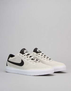 Nike SB Bruin Hyperfeel Skate Shoes - Summit White/Black-White