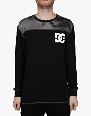 DC Top Half 2016 Snowboard Thermal Top - Anthracite