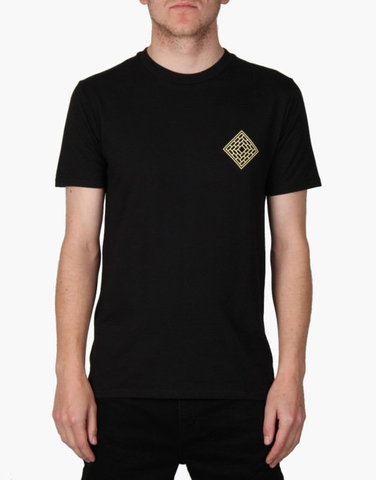 The National Skateboard Co. Astro T-Shirt - Black