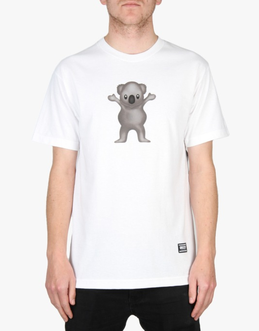 Grizzly Shane O'Neil Pro T-Shirt - White