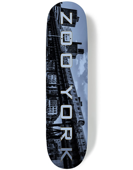 Zoo York Golden Era Metropolis Series - Subway Skateboard Deck - 8.25""
