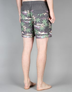 Globe Pakalolo Pool Shorts - Vintage Black