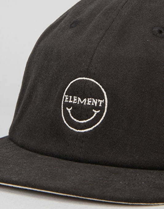 Element Endeavour Snapback Cap - Black